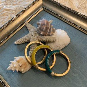 Lia Sophia set of 3 bracelets